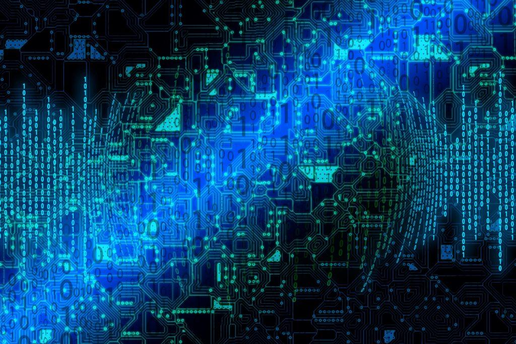 IT säkerhetskonsulter - Digitala grafik av IT