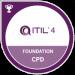 Om oss UCS IT och våra partners - ITIL 4 foundation logga