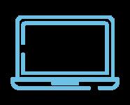 Produkter - IT-arbetsplats som tjänst - Paketet professional som innehåller en dator som är smidig att bära med sig.